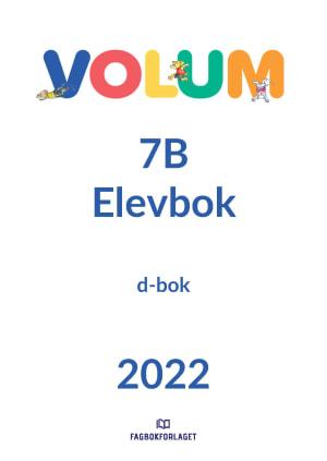 Volum 7B Elevbok, d-bok