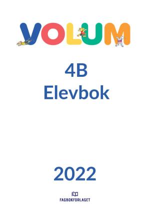 Volum 4B Elevbok