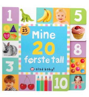 Mine 20 første tall