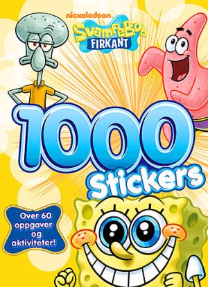 SvampeBob Firkant. 1000 stickers og over 60 oppgaver og aktiviteter