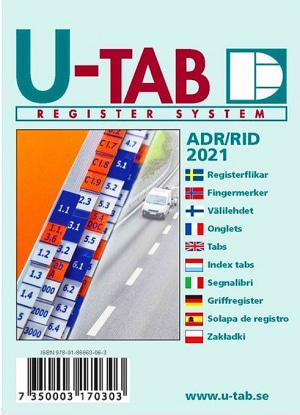 Fingermerker til ADR/RID Landtransport av farlig gods 2021