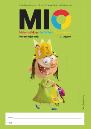 MIO,  Matematikken - Individet - Omgivelsene, observasjonsark. 2. utgave