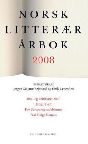 Norsk litterær årbok 2008