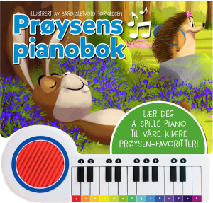 Prøysens pianobok