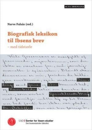 Biografisk leksikon til Ibsens brev