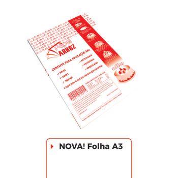 Folha de Instrução - A3 - Pacote com 50 folhas