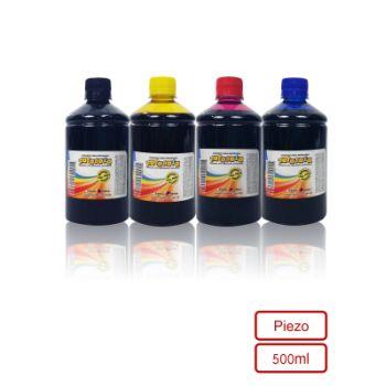 Corante Comestível Fotobolo Kit c/ 4 unid 500ml - Fórmula Piezo | Tinta comestível para papel de arroz Fotobolo, Piezo, compatível com todos os modelos Epson Ecotank
