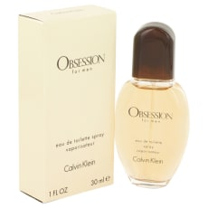 OBSESSION by Calvin Klein 1 oz Eau De Toilette Spray for Men