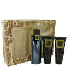Bora Bora by Liz Claiborne Gift Set -- 3.4 oz Cologne Spray + 3.4 oz Body Moisturizer + 3.4 oz  Hair & Body Wash for Men