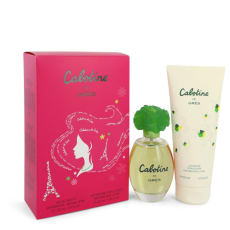 CABOTINE by Parfums Gres -- Gift Set -- Eau De Toilette Spray + Body Lotion for Women