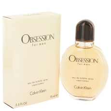 OBSESSION by Calvin Klein 2.5 oz Eau De Toilette Spray for Men