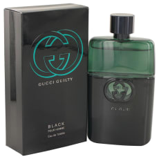 Gucci Guilty Black by Gucci 3 oz Eau De Toilette Spray for Men