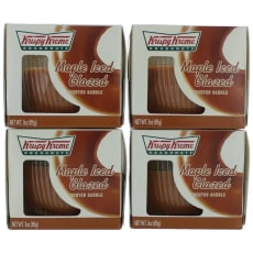 Scented Candle 4 Pack Of 2.75 Oz Jars - Maple Iced Glazed by Krispy Kreme