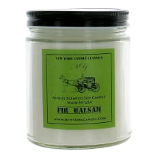 9 Oz Highly Scented Soy Candle - Fir Balsam by New York Candle
