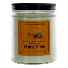 9 Oz Highly Scented Soy Candle - Pumpkin Pie by New York Candle