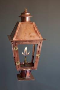 Atlas Post Mount Lantern