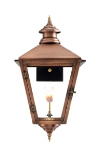Savannah Wall Mount Copper Lantern by Primo