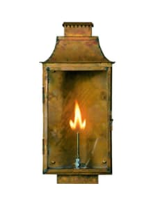 Colonial Lantern by Copper Sculptures