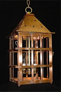 St. Michael's Alley Chain Hung Outdoor Lantern