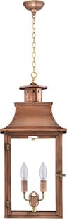 Royal Hanging Chain Copper Lantern by Primo