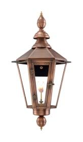 Vicksburg Wall Mount Gas Copper Lantern by Primo