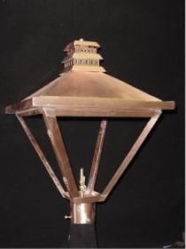 Church Street Post Top Outdoor Lantern