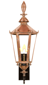English Manor Lantern by Copper Sculptures