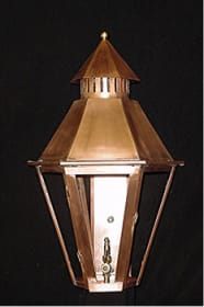 South Battery Wall Outdoor Lantern