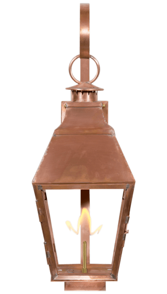 Old World Gas Copper Lantern
