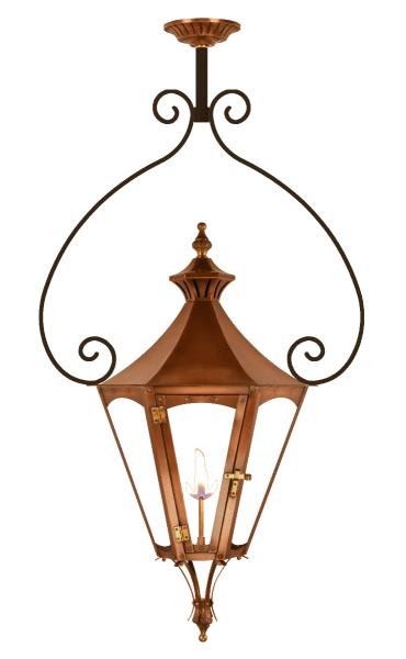 Gala Yoke Mount Gas or Electric Lantern