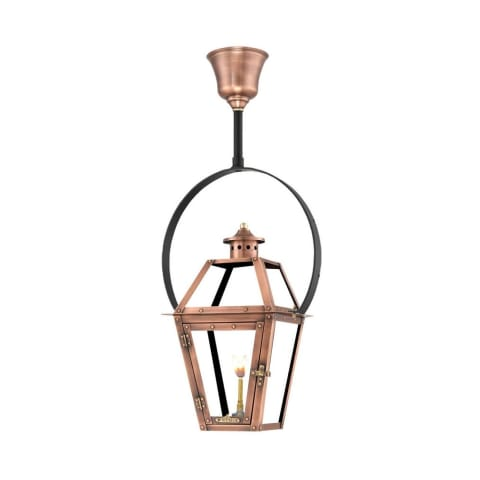 Orleans Half Yoke Gas Copper Lantern by Primo