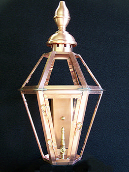 Six Sided Rue Charles Wall Lantern