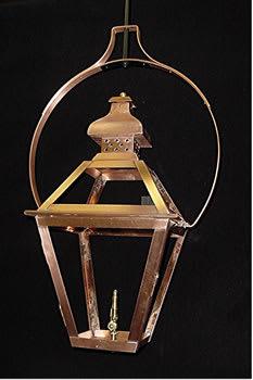 Tradd Street Yoke Mounted Hanging Outdoor Lantern