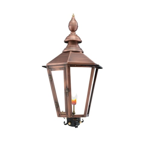 Vicksburg Post Mount Copper Lantern by Primo