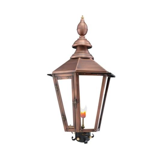 Vicksburg Post Mount Copper Lantern by Primo