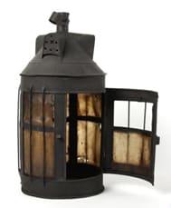 Lantern with Horn Panes c. 1800 - 1899