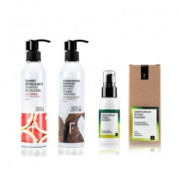 Haircare Intense Detox Plan - Cosmética natural Freshly Cosmetics