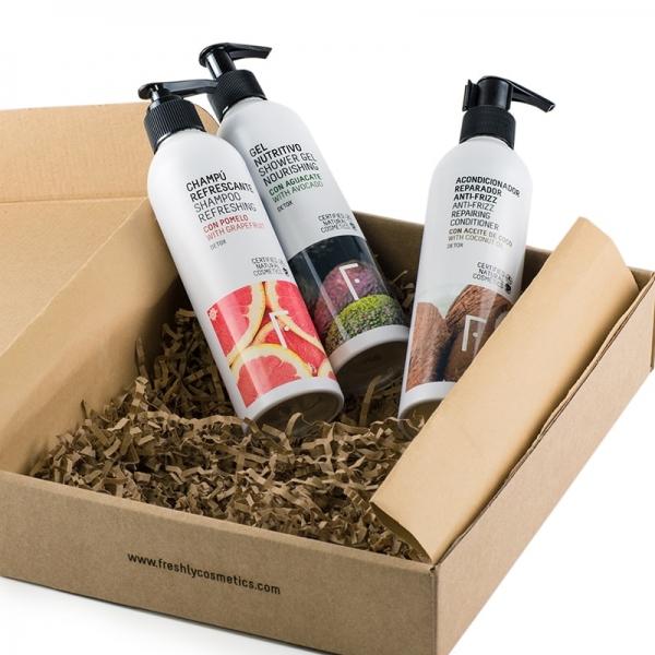 Pack Detox Shower - Natural cosmetics Freshly Cosmetics