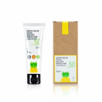 Crema Solare Viso Healthy Protection - Cosmetici naturali Freshly Cosmetics