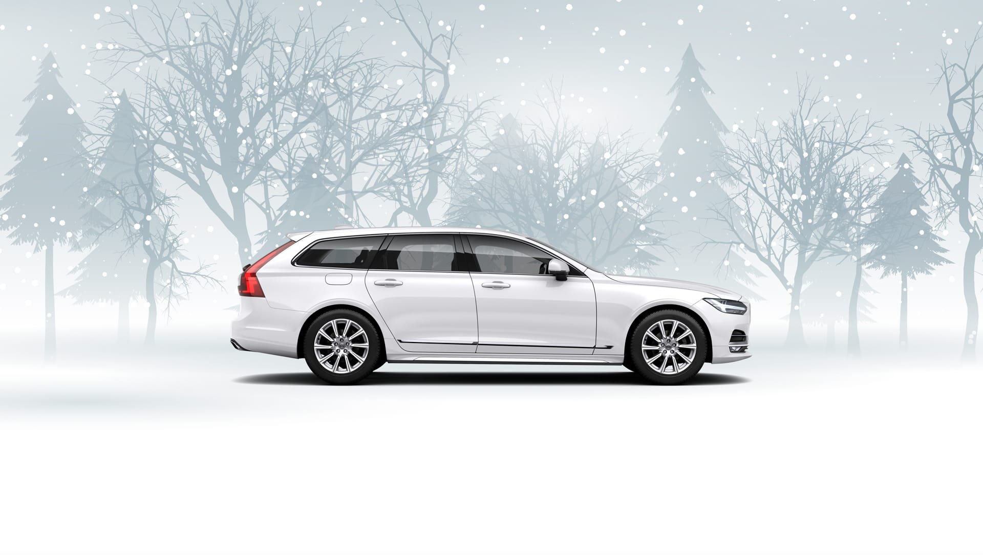 Volvo V90 T8 Plug-in Hybrid Inscription m/AWD og Automat