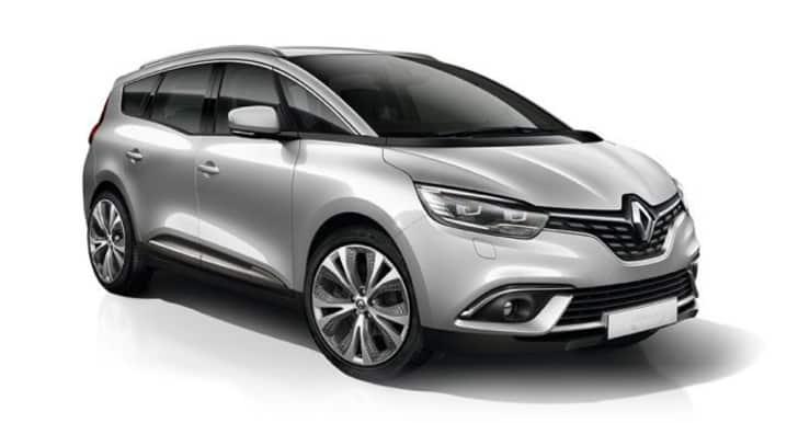 Renault Grand Scenic Silver