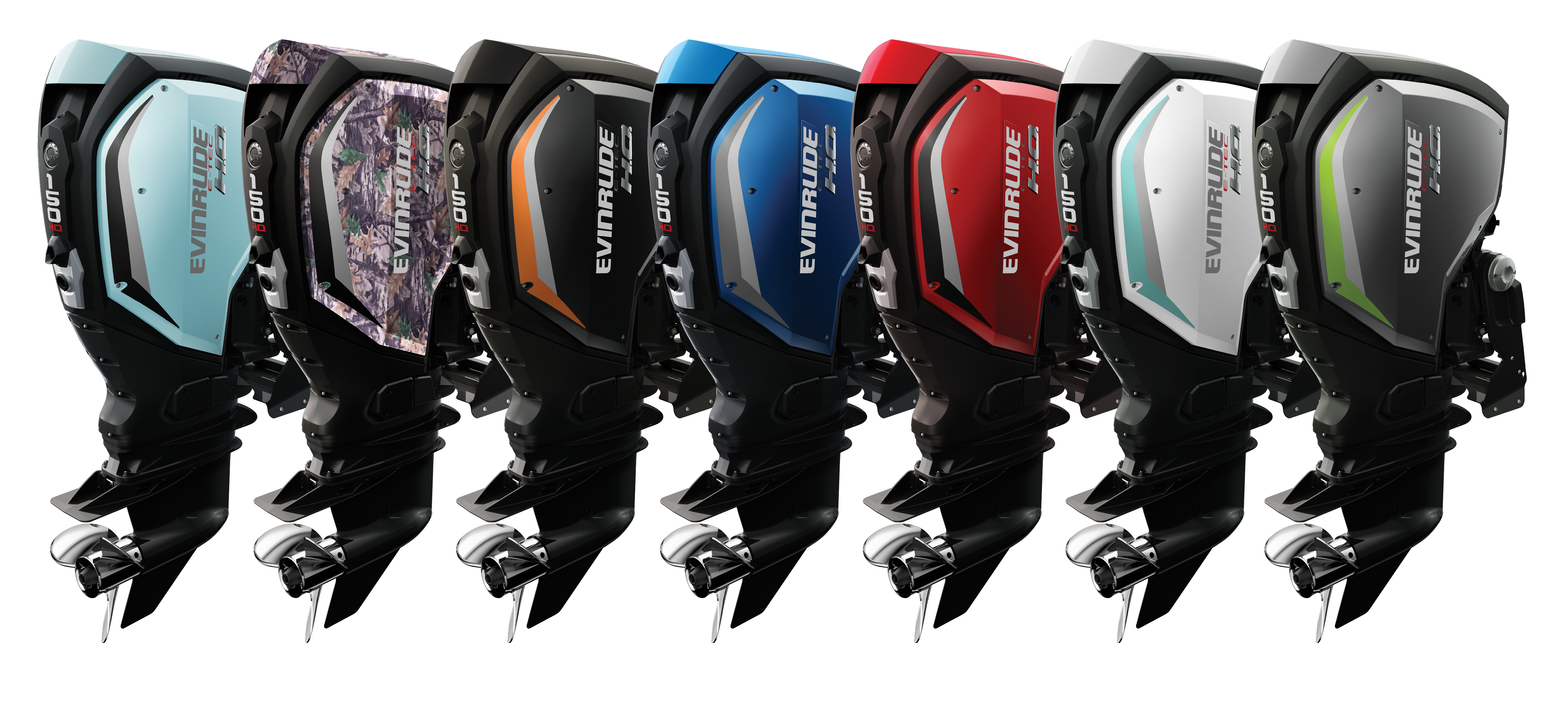 Evinrude G2 engines - 6 colors