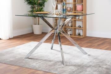 Lazio 4 Square Dining Table