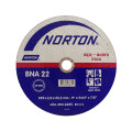 "Disco De Corte Aco Inox 9"" X 5/64 X 7/8mm   Norton"
