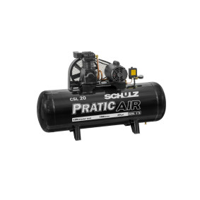 Compressor De Ar Pratic Air Csl 20/15 220 V   Schulz