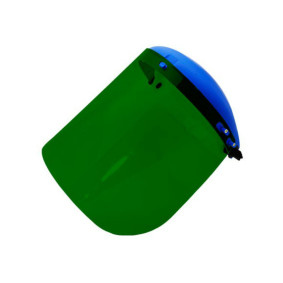 "Protetor Facial 8"" Verde   Pro Safety"