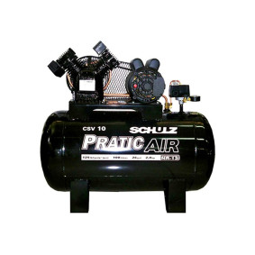 Compressor De Ar Pratic Air Csv 10/100 2 Cv 220/380 V   Schulz