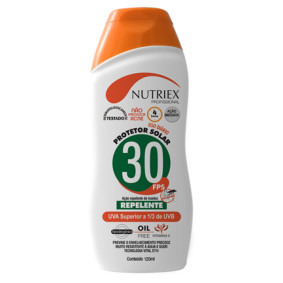 Creme Protetor Solar Fps 30 C/Repelente 120ml   Nutriex