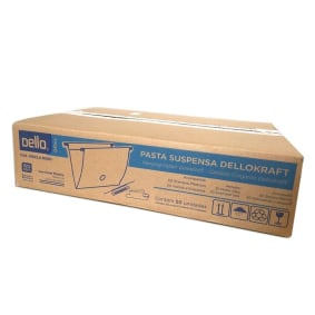 Pasta Suspensa Kraft Haste Plastica Cx C/50 2x   Dello