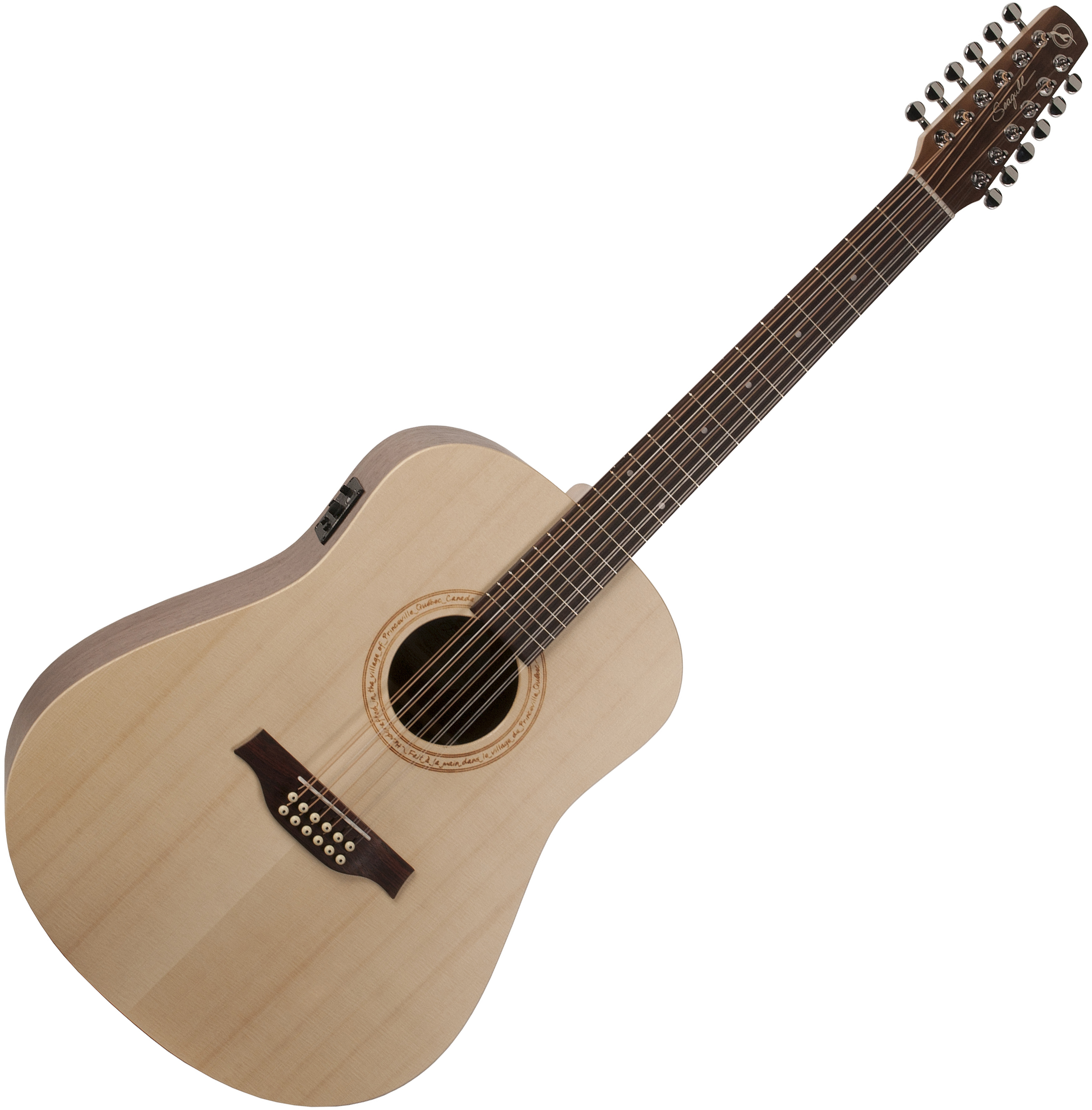 seagull excursion walnut 12 string a e guitar natural. Black Bedroom Furniture Sets. Home Design Ideas